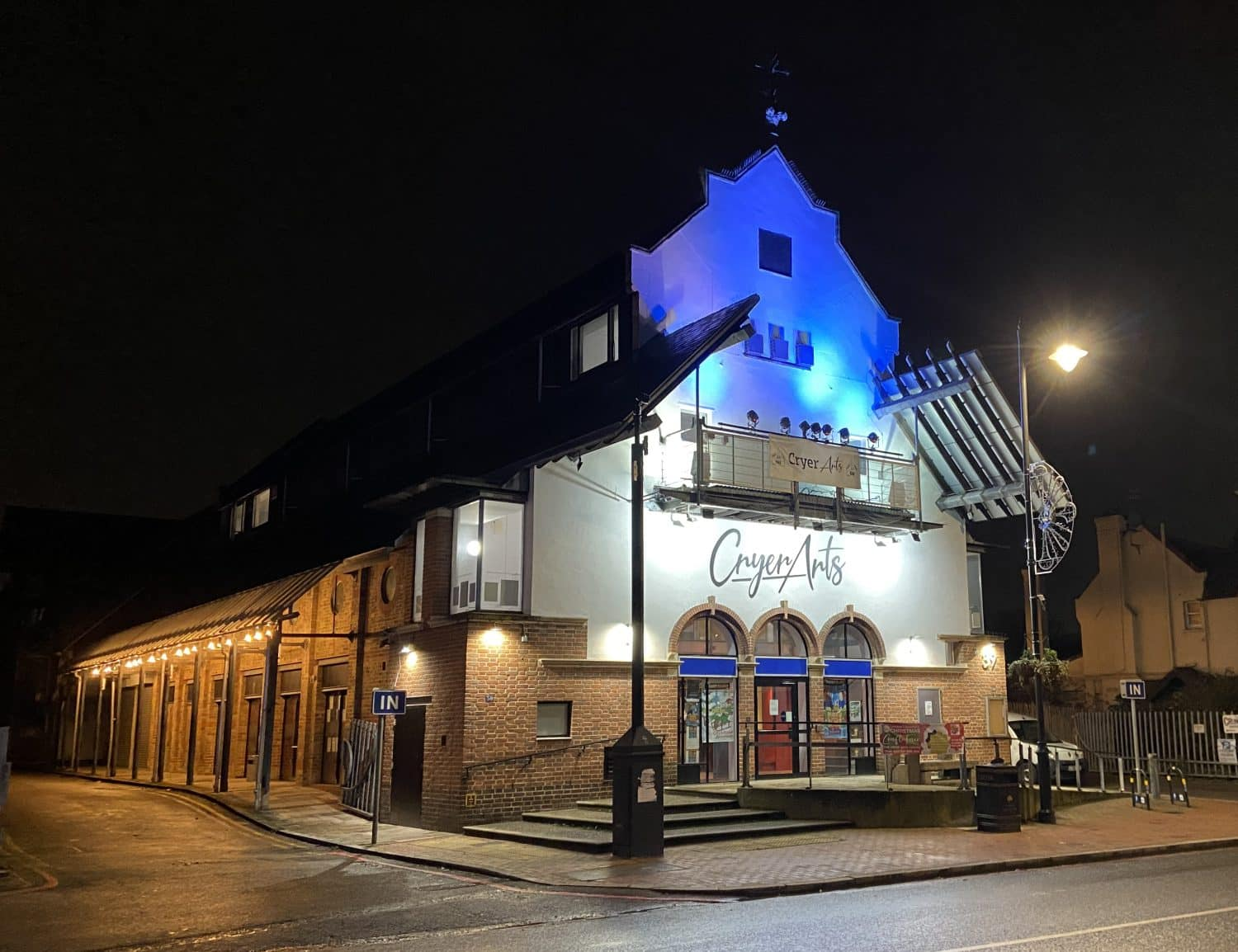 Gala celebrates the official opening of Cryer Arts Centre